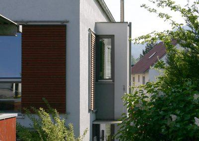 Detailsansicht Reihenhaus Gaggenau